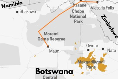 Mobile Camp au Botswana