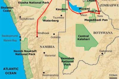 circuit 4x4 Namibie Botswana Chutes Victoria