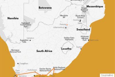 Voyage Afrique du Sud, Route des jardins et safaris