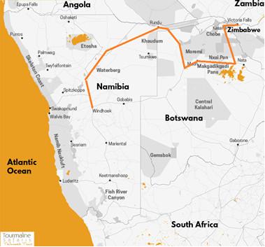Circuit 4x4 équipé camping Sur les pistes d4afrique Australe, Namibie, Botswana, chutes Victoria