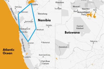 carte circuit Wilderness en Namibie, voyage de luxe en Namibie