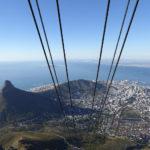 Cape Town avec vue du téléphérique Voyage Afrique du Sud