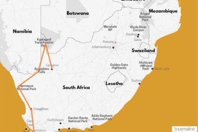 Voyage Afrique du Sud Kgalagadi à Cape Town