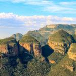 Les trois rondavels Mpumalanga