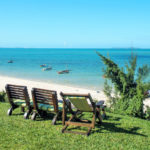 Vue sur l'océan indien de Casa Babi à Vilanculos