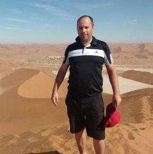 Mickael, Consultant Voyages au sein de l'équipe Tourmaline Safaris