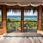 Vue de la chambre au Thonga Beach Lodge